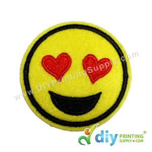Garment Material (Smiley) (51mm) [Love]