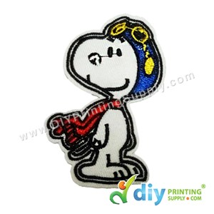 Garment Material (Cartoon) (55 X 77mm) [Snoopy]