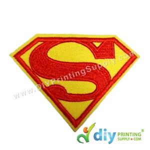Garment Material (Badge) (80mm X 60mm) [Superman]