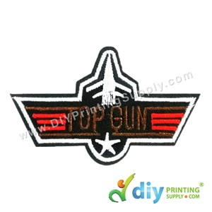 Garment Material (Badge) (73mm X 45mm) [Top Gun]