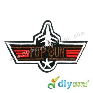 Garment Material (Badge) (73mm X 45mm) [Top Gun]