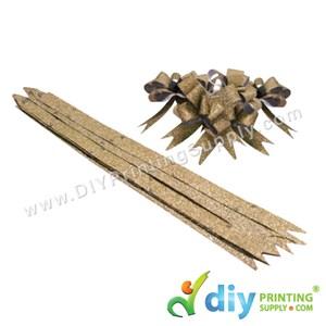 Gift Ribbon (12mm) (Sparkling) (Gold) (10 Pcs/Pkt)