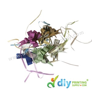 Gift Ribbon (12mm) (Sparkling) (MIX) (6 Pcs/Pkt)