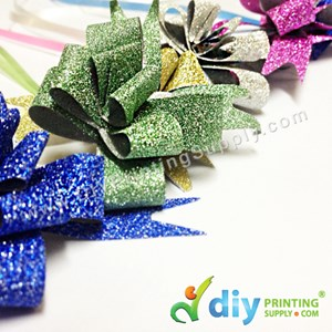 Gift Ribbon (12mm) (Sparkling) (Gold & Silver) (6 Pcs/Pkt)