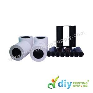 "Hiti Thermal Ribbon & Photo Paper 4R (4"" X 6"") (330 Prints X 4 Rolls) (Premium) [For Hiti P510L Only]"