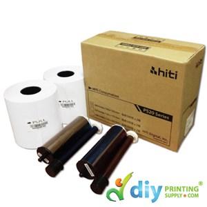 "Hiti Thermal Ribbon & Photo Paper 4R (4"" X 6"") (500 Prints X 2 Rolls) (P520L) [For Hiti P520L Only]"