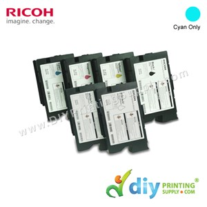 Ink Consumables (Cyan) (200ml/Cart) [For RICOH Ri 1000 DTG] [EDP 342553]