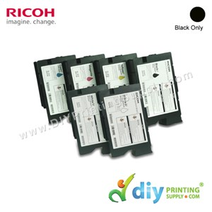 Ink Consumables (Black) (200ml/Cart) [For RICOH Ri 1000 DTG] [EDP 342552]
