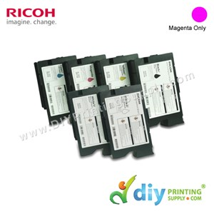 Ink Consumables (Magenta) (200ml/Cart) [For RICOH Ri 1000 DTG] [EDP 342554]