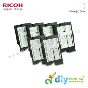Ink Consumables (White 1) (200ml/Cart) [For RICOH Ri 1000 DTG] [EDP 342556]