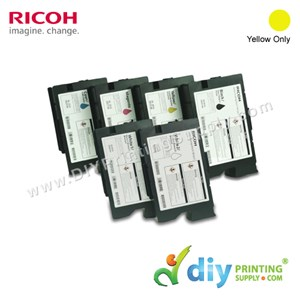 Ink Consumables (Yellow) (200ml/Cart) [For RICOH Ri 1000 DTG] [EDP 342555]