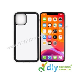 "Apple Casing (iPhone 11) (6.1"") (Plastic) (Black)"