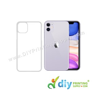 "Apple Casing (iPhone 11) (6.1"") (Plastic) (Transparent)"