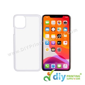 "Apple Casing (iPhone 11) (6.1"") (Plastic) (White)"
