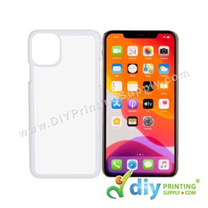 "Apple Casing (iPhone 11 Pro) (5.8"") (Plastic) (White)"