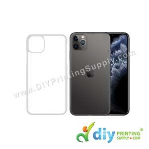 "Apple Casing (iPhone 11 Pro Max) (6.5"") (Plastic) (Transparent)"