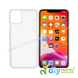 "Apple Casing (iPhone 11 Pro Max) (6.5"") (Plastic) (White)"