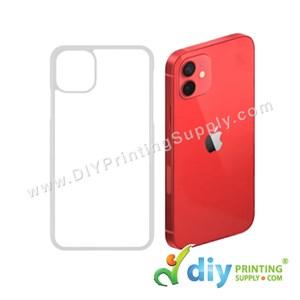 """Apple Casing (iPhone 12) (6.1"""") (Plastic) (Transparent)"""