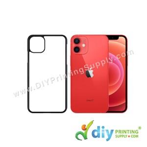 """Apple Casing (iPhone 12 Mini) (5.4"""") (Plastic) (Black)"""