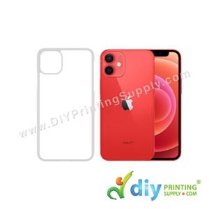 """Apple Casing (iPhone 12 Mini) (5.4"""") (Plastic) (Transparent)"""