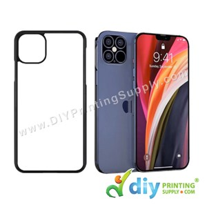 """Apple Casing (iPhone 12 Pro Max) (6.7"""") (Plastic) (Black)"""