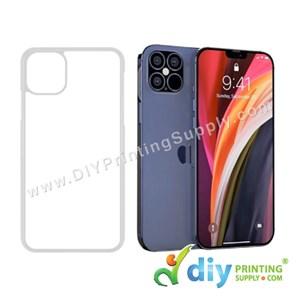 """Apple Casing (iPhone 12 Pro Max) (6.7"""") (Plastic) (Transparent)"""