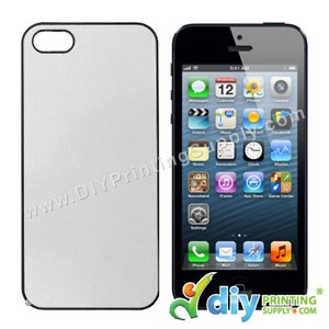 Apple Casing (iPhone 5/5S/SE) (Plastic) (Black)*