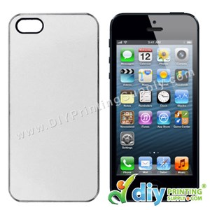 Apple Casing (iPhone 5/5S/SE) (Plastic) (Transparent)*