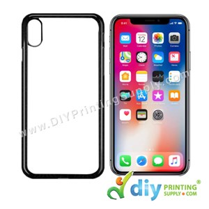 "Apple Casing (iPhone X & XS) (5.65"") (Plastic) (Black)"