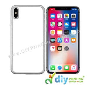 "Apple Casing (iPhone X & XS) (5.65"") (Plastic) (Transparent)"