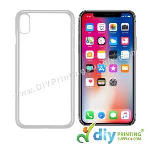 "Apple Casing (iPhone X & XS) (5.65"") (Plastic) (White)"