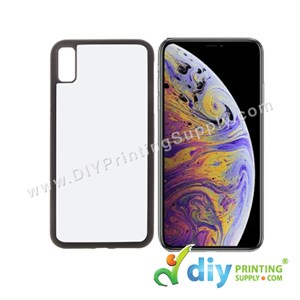 "Apple Casing (iPhone XS Max) (6.5"") (Plastic) (Black)"