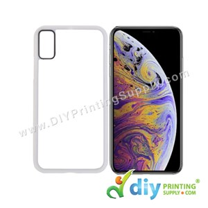 "Apple Casing (iPhone XS Max) (6.5"") (Plastic) (White)"