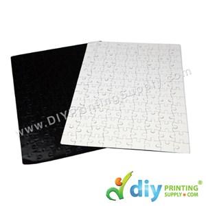 Jigsaw Puzzle (Rectangle) (Magnetic) (White) (28 X 19cm) (126 Pcs/Sheet)