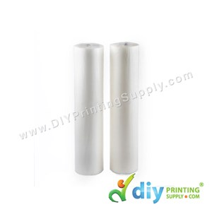 Hot Laminating Film (Glossy) (31cm X 100m) (28 Mic) [For 450 Sheets of A4 Size/Roll]