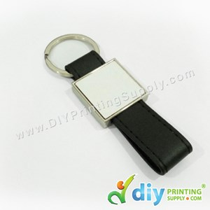 PU Leather Keychain (Square)