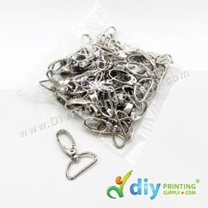 Lanyard Oval Hook (Semi-D) (25mm)