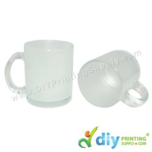 Glass Mug (Frosted) (11oz) With Gift Box