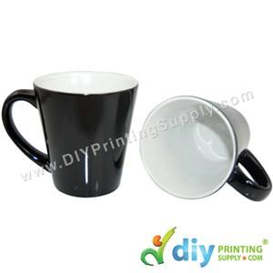 Magic Mug (Black) (Cone) (12oz) With White Box