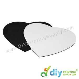 Mousepad (Fabric With Rubber Base) (Love) (3mm) (22 X 18.4cm)