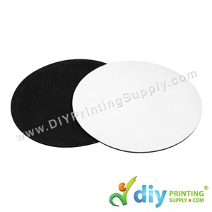 Mousepad (Fabric With Rubber Base) (Round) (3mm) (20 X 20cm)