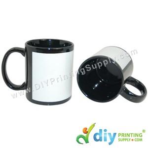 Full Colour Mug (Black) (11oz) With Gift Box