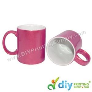 Sparkling Mug (Pink) (11oz) With Gift Box