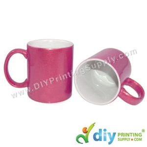 Sparkling Mug (Pink) (11oz) With Gift Box