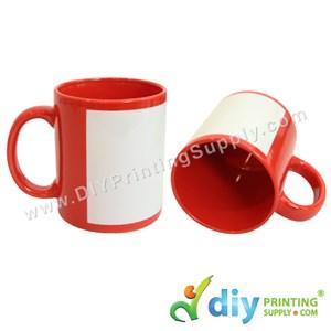 Full Colour Mug (Red) (11oz) With Gift Box