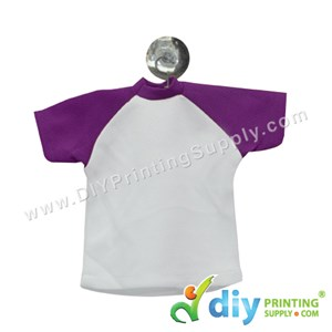 Mini Tee (Purple) With Hanger & Suction Cup