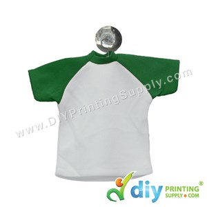 Mini Tee (Green) With Hanger & Suction Cup