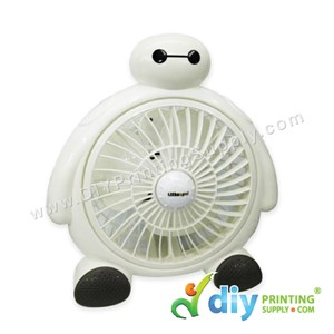 "Mini Table Fan (White) (8"") [Baymax]"