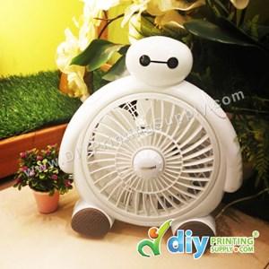 """Mini Table Fan (White) (8"""") [Baymax]"""