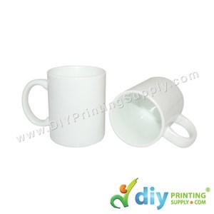 White Mug (Grade A) (Matte) (11oz) With Gift Box